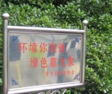 【校园环保标语大全】校园环保标语